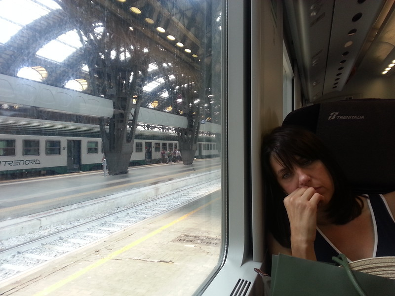 6-27-15 Milano train to Cinque Terre