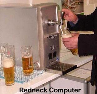 computer beer tap
