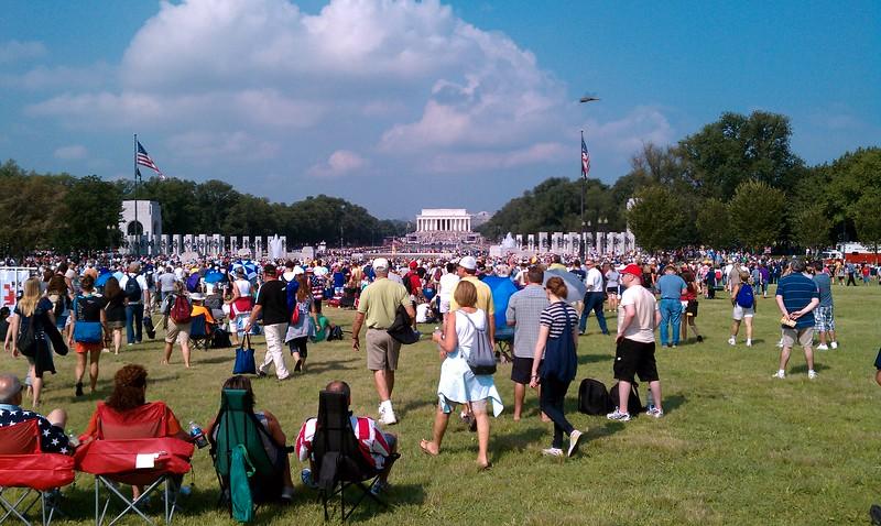 8-28-10 DC Mall Rally