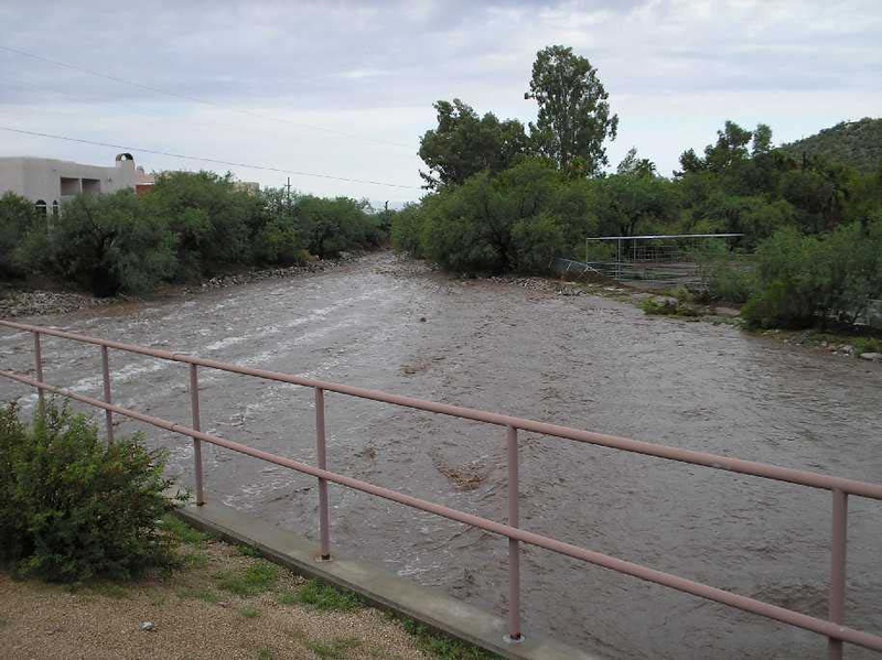 7-06 Tucson wash flood #1