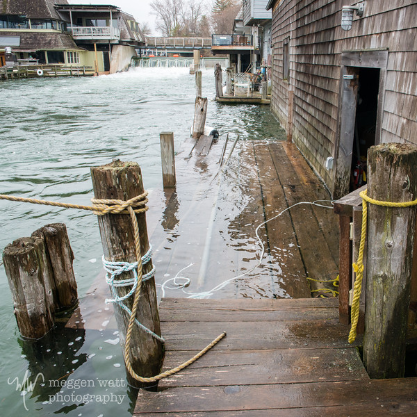 TLR-20190509-9740 High Water in Fishtown: Seiche in Lake Michigan