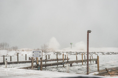 TLR-02252019-9081 Bomb Cyclone waves crash outside Leland Harbor