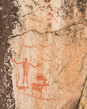 Hagman Lake Pictographs