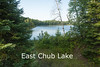 East Chub Lake, Lake County, MN Highway 1 north of intersection with Lake County Road 2.<br /> Sandy boat landing, but a small lake better suited to canoes.