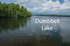 Dumbbell Lake.  East of Isabella on Superior National Forest Road 172.