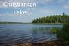 Christianson Lake, Lake County, County Road 2.
