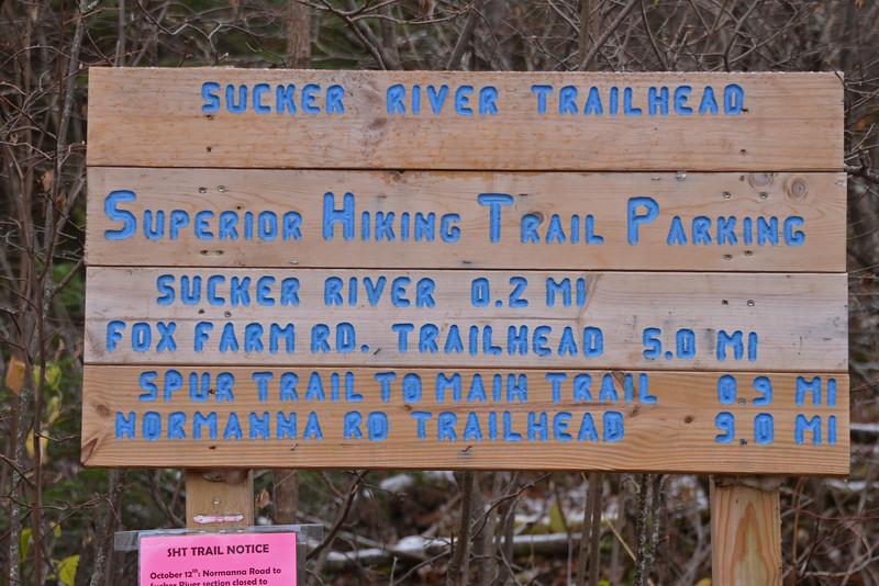 Sucker River Trailhead