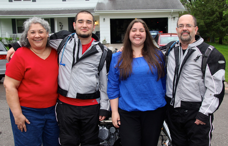 Thanks to Roberta (far left) for allowing Conor and me to live out this dream. I'm blessed by a family that loves and supports travel. Nina is equally bitten by the travel bug and she's currently scheming a trip to Ireland (with Brock this summer), a trip to Cuba (our extended family over Christmas), and trip to Turkey (immediate family next summer). - Jay