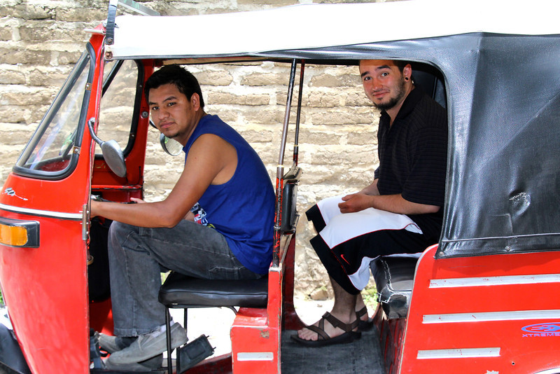 Another $2 Tuk-Tuk trip back to our hotel and we were bound for a short 47 mile ride to Antigua. - Jay