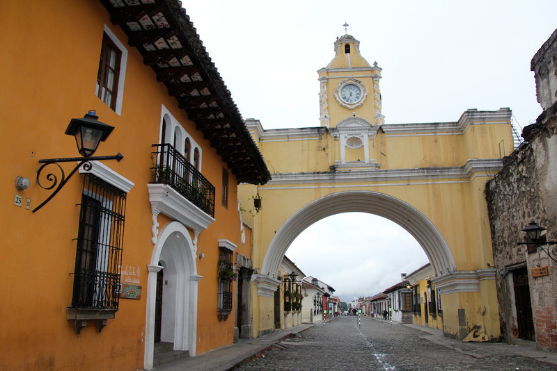 This is a shot of the famous Arco de Santa Catalina. Nina (daughter) and I visited this city several years ago and not much has changed. - Jay