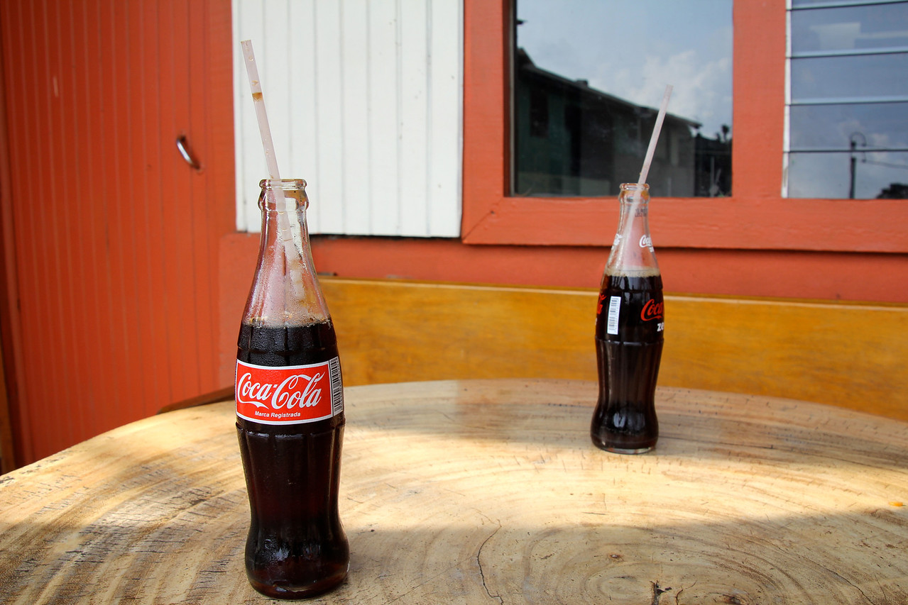 Coke may be the actual owner of Latin America; much has been written about  links to obesity. I agree that in nations where Coke is fifty cents and a bottle of water is a dollar most youth will take this sugary poison. -Conor