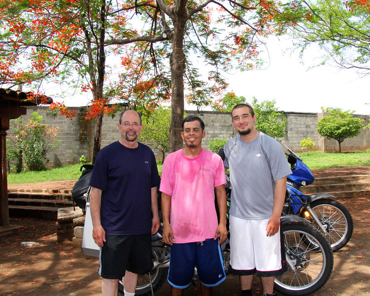 Maurico (center) was a huge help to us and a great guy. He was a former drug dealer in the barrio and now his life is totally changed for the better. - Jay