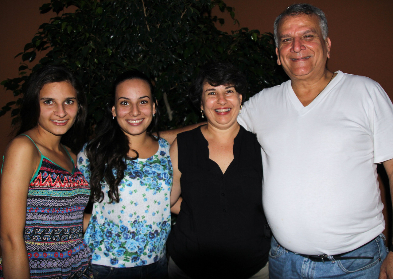 Our hosts were family friends dating back almost 30 years. Right to left is Rodrigo, Ana, Ale, and Gabi. Rodrigo is an agronomist and consults with different produce companies (Dole, etc.) throughout Central America. He studied at the University of Minnesota for his masters degree and became significantly involved in a ministry that my wife (Roberta) led on the U of M campus. Our daughter, Nina, lived with the Soto family for a month when she was 15 and this started her love affair with Spanish. <br /> <br /> Conor and I enjoyed the wonderful hospitality of this family for two days and we ate even more amazing food. Additionally, Rodrigo provided ongoing history lessons and filled us in on current political and economic situation in CR. What a treat to be in this home! - Jay
