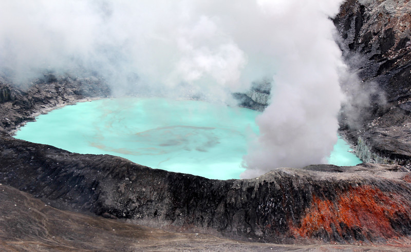 The park is frequently closed to visitors because of sulphuric gas emissions. Over the last decade there have been a number of indications that the volcano is slowly building up towards a new eruption. - Jay