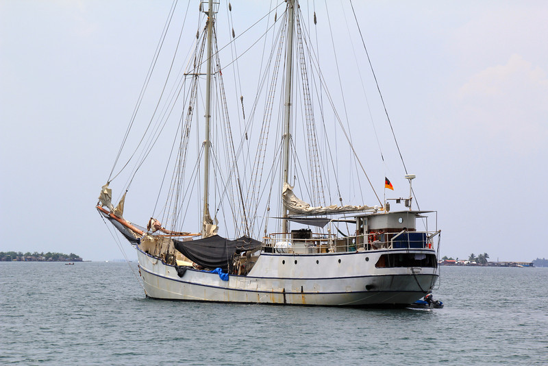 This humble sailing vessel was to be our home for the next three days. - Jay