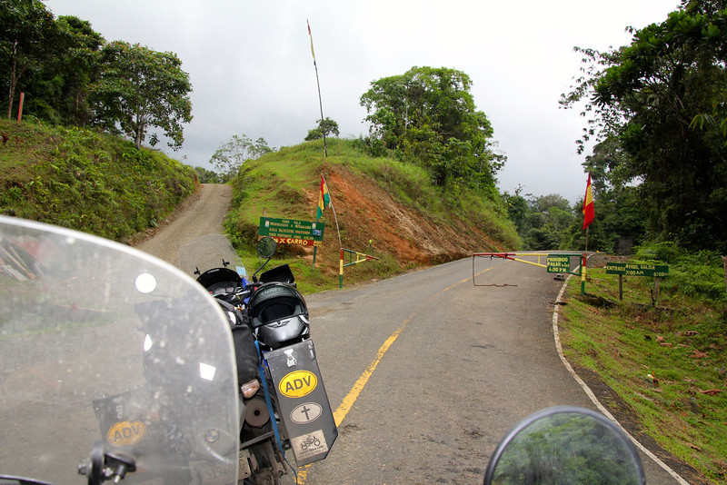 Before reaching the ship we needed to enter Kuna-Yala land (more later) and a toll was charged. - Jay