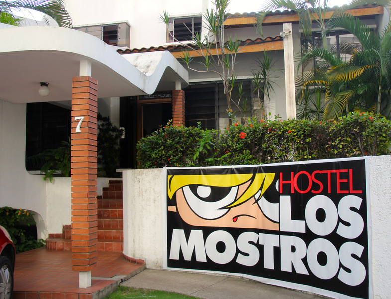 The worst hostel ever. Took us an hour to find it in the middle of Panama City. They then decided to not do our wash even though they told us they would. This required us to speed to the Steel Rat (our boat around the Darien Gap), late, and with our wet clothes in a plastic bag. -Conor