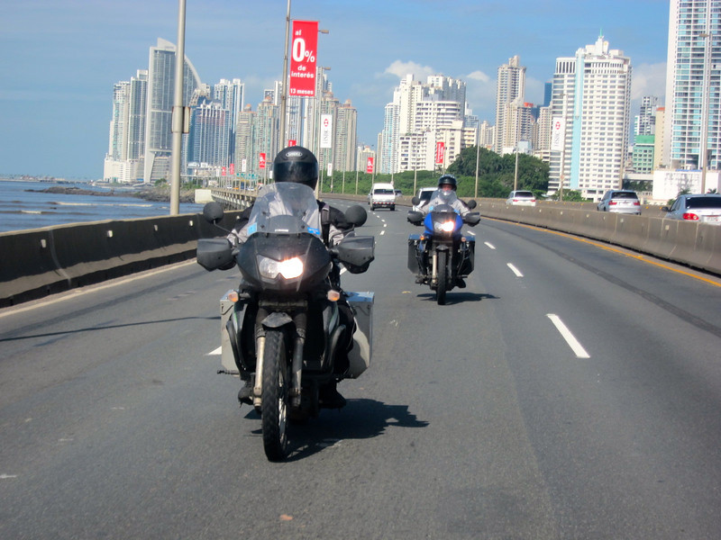 Day 24 had us leaving the smoggy Americanized Panama City and bound for our boat. -Conor