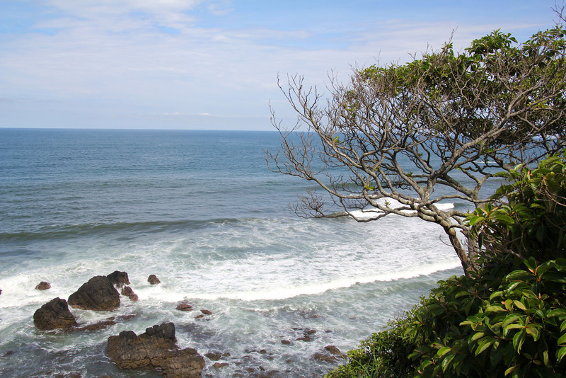 In order to save some travel time we headed down the west coast of Costa Rica versus going through the mountains. The route was absolutely beautiful and it reminded me of driving down the California coast but with palm trees. - Jay