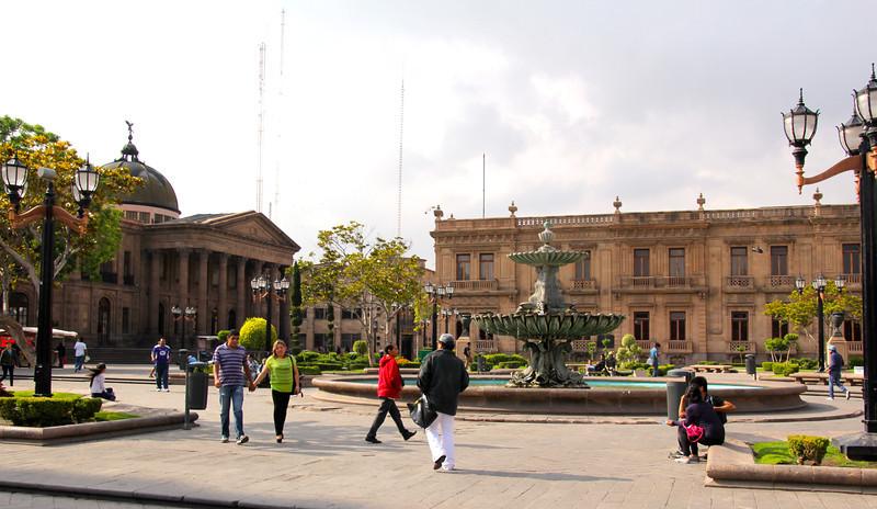 This plaza features the Theatro de la Pas. - Jay