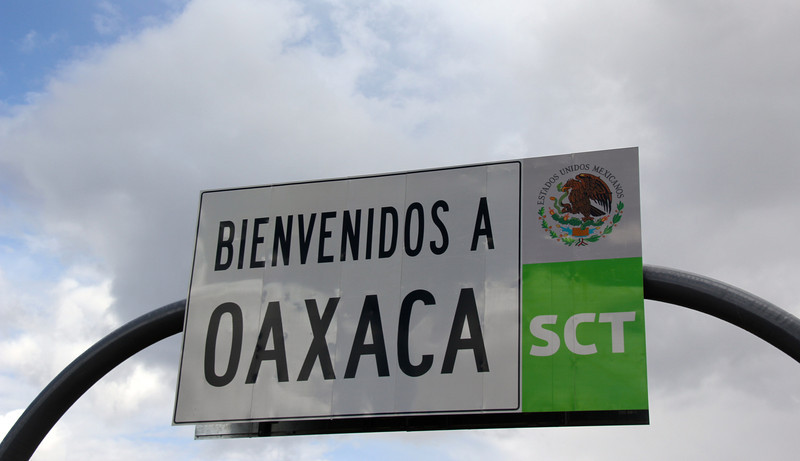 We entered the state of Oaxaca and the city itself was our endpoint for Day 8. - Jay