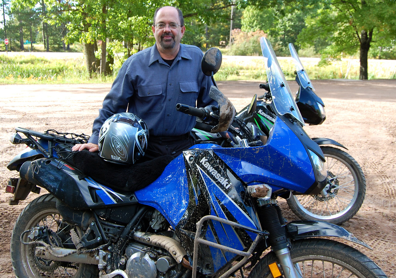 """Motorcycles have been in my blood since I was about Conor's age. My first bike was a Honda Trail 90 and then I graduated to big and better bikes. With each passing bike I was convinced I was """"over"""" this dangerous habit but no, when spring rolled around I always found some tempting two-wheel deal in the paper. <br /> <br /> As I approach the biggest trip of my lifetime I'm excited, humbled, and a bit scared at the same time. Can a 60-year-old man make it? Can I bring my son back alive? We'll see. <br /> <br /> Welcome to this RR (Ride Report) and our journey! - Jay"""