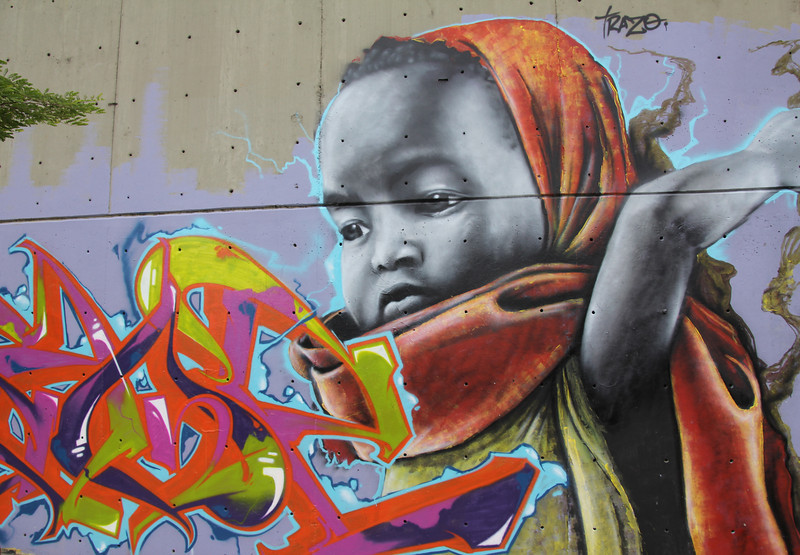 #10 - Graffiti Art Work (Medellin, Colombia)
