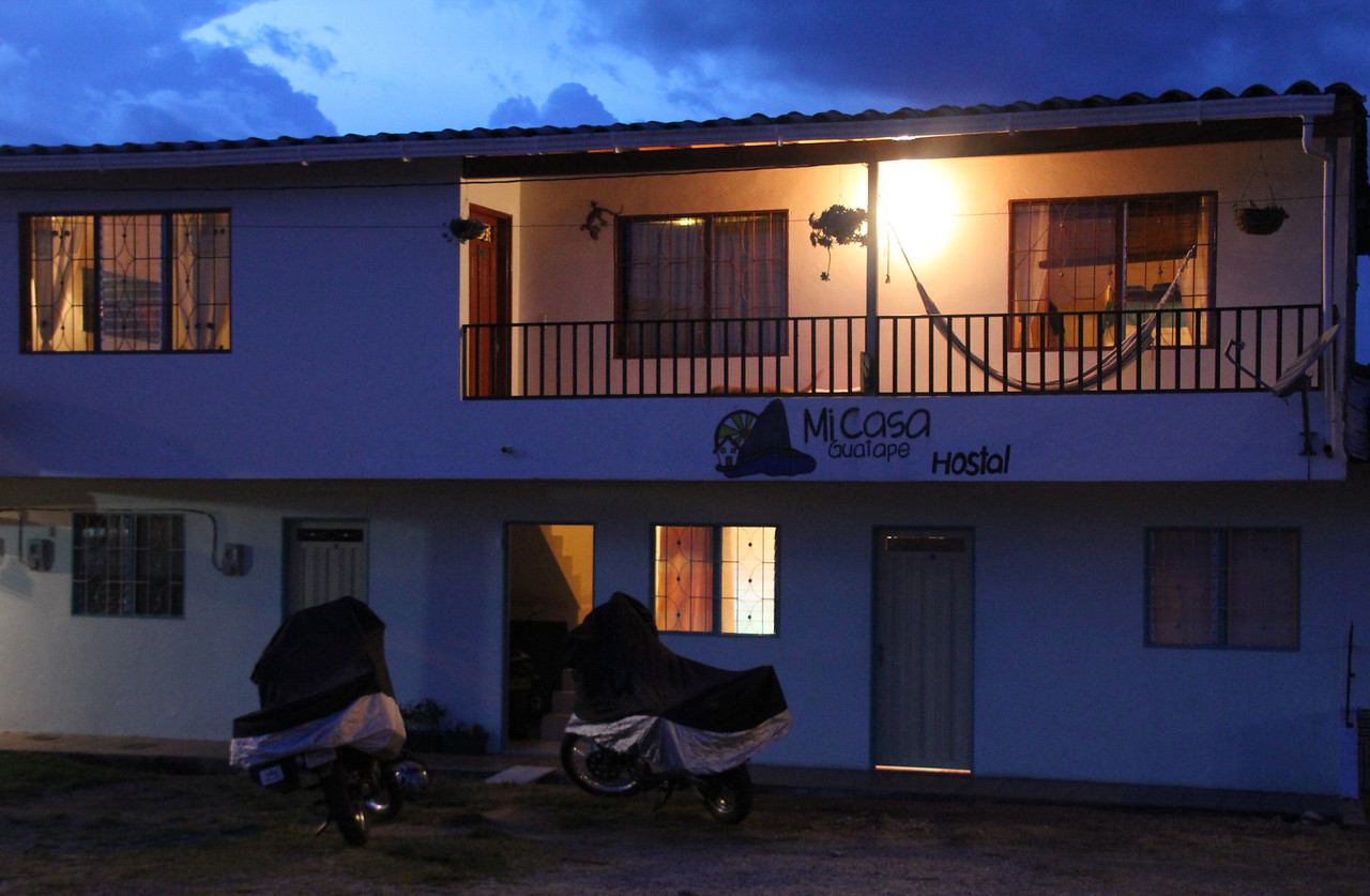 Our amazing hostel for the night (Mi Casa Guatape). The owner was super nice and it was an absolute honor staying in this place.- Conor