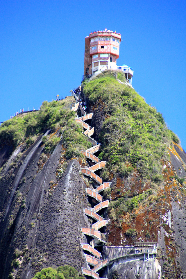 "The estimated age of the ""Rock"" is 70 million years and the man-made staircase takes you to the top with 649 steps. - Jay"