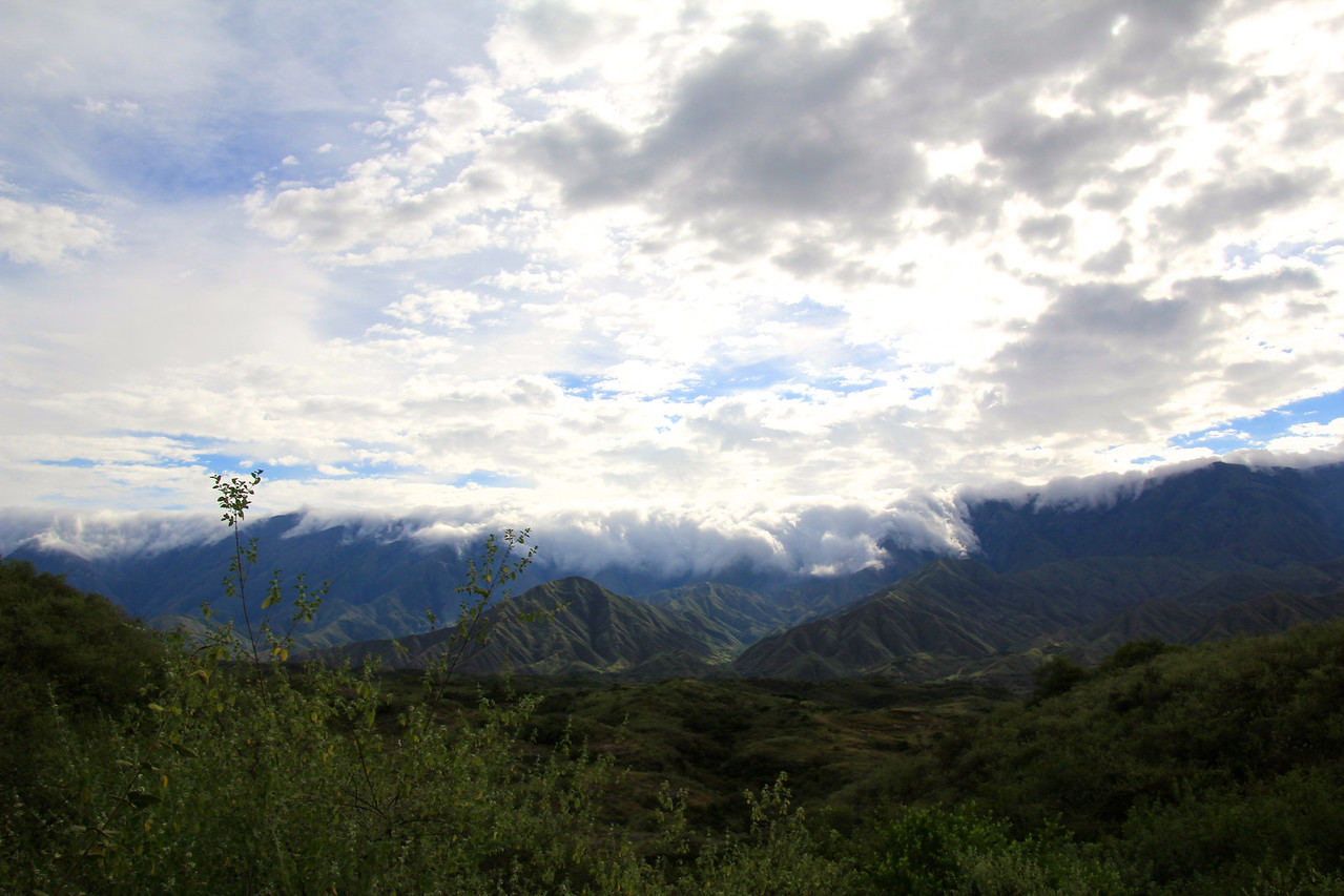 Enjoy the photos of the beautiful Andes. - Conor