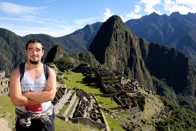 It was absolutely amazing being here. It felt like you were just waking around soaking in a completely different culture. There are no vendors allowed on the site so just people who want to roam around and see the natural beauty of this place are permitted. I'll never forget being at Machu Picchu, that's for sure. - Conor