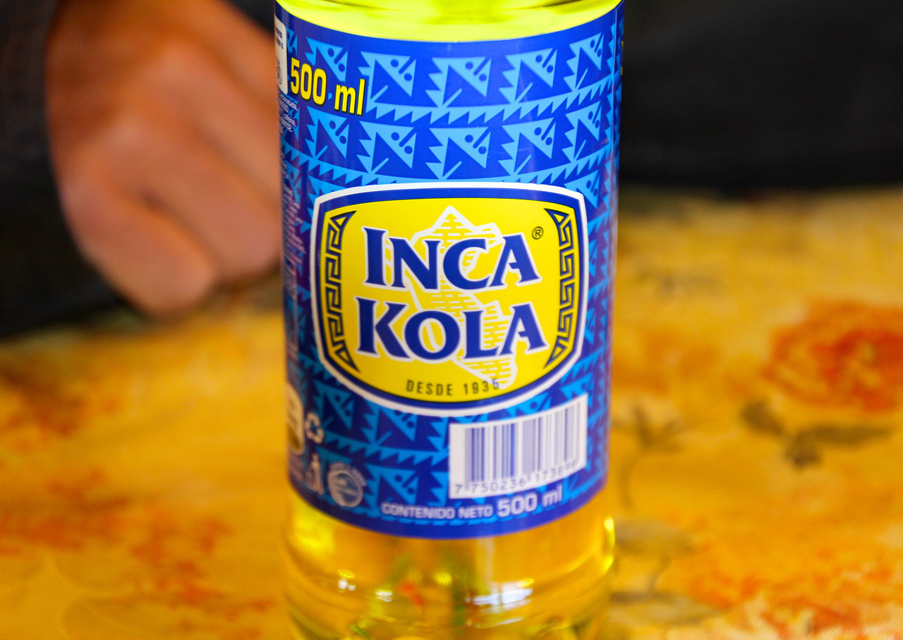 Inca Kola is a fantastic Peruvian and Bolivian soda. A new favorite!- Conor