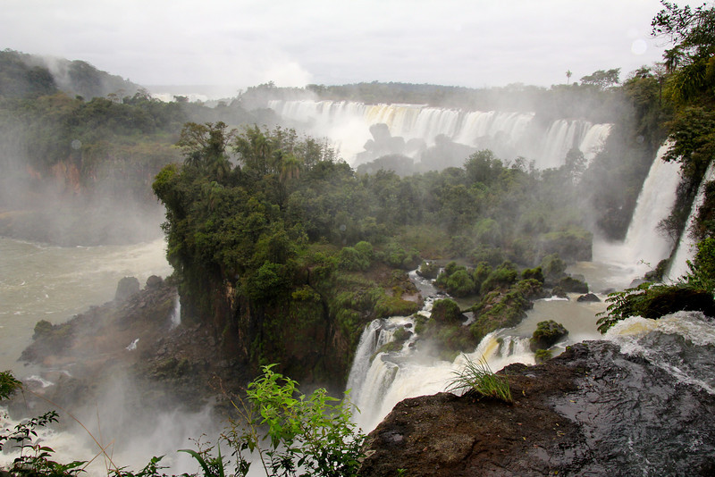 "The falls was first ""discovered"" by a Spanish conquistador in 1541 and he named it Santa Marta. The name never really stuck and it was renamed with the indigenous name of Cataratas del Iguazú which means ""Great Waters."" - Jay"