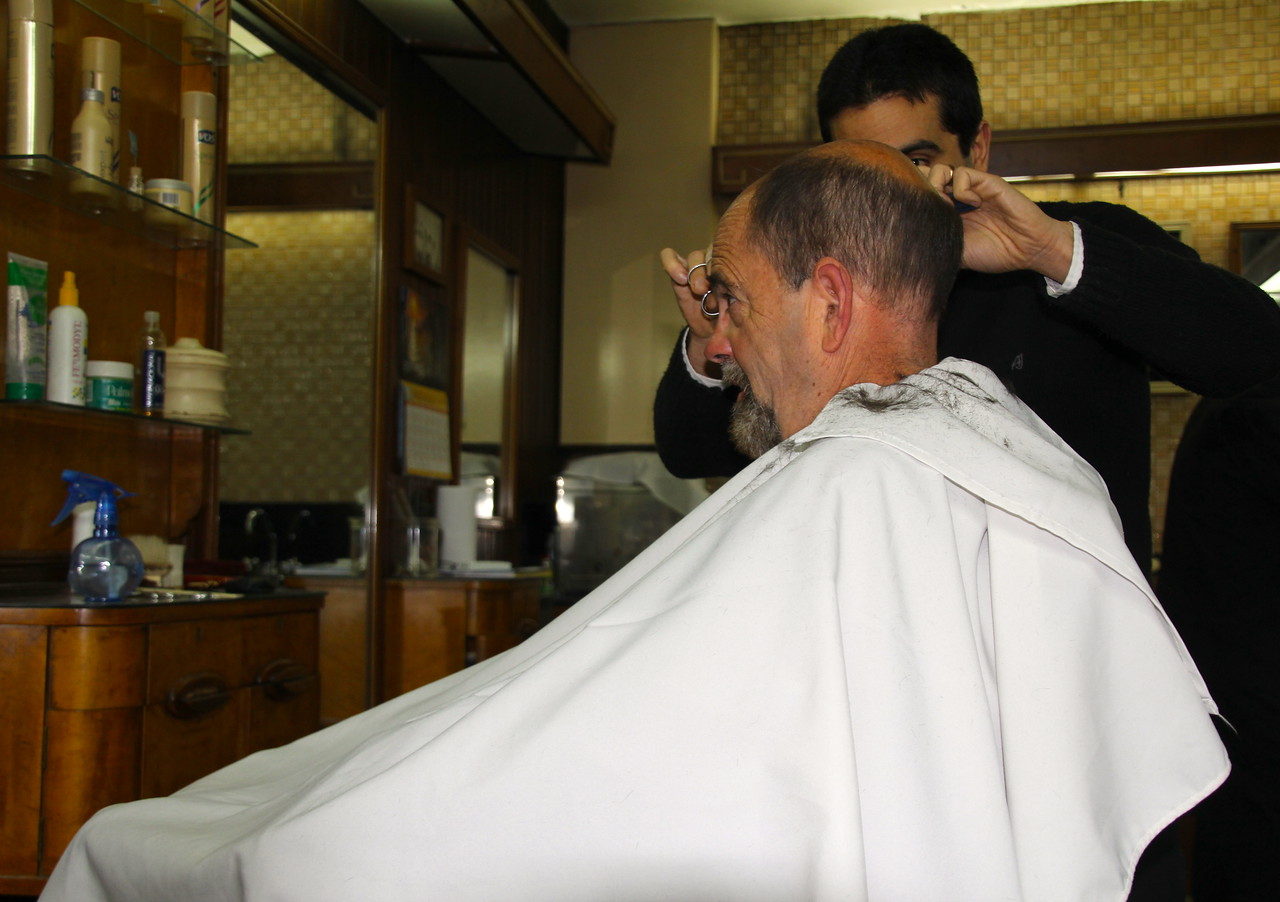 Getting a haircut in a foreign country is always an interesting cultural experience. This old school barber shop provided the best cut I've ever had. - Jay