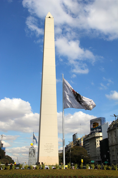 Obelisco de Buenos Aires which is located in the Plaza de la República. - Jay