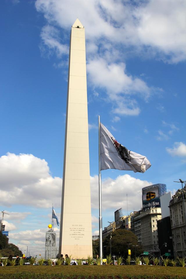 Obelisco de Buenos Aires which is located in the Plaza de la República. - Jay