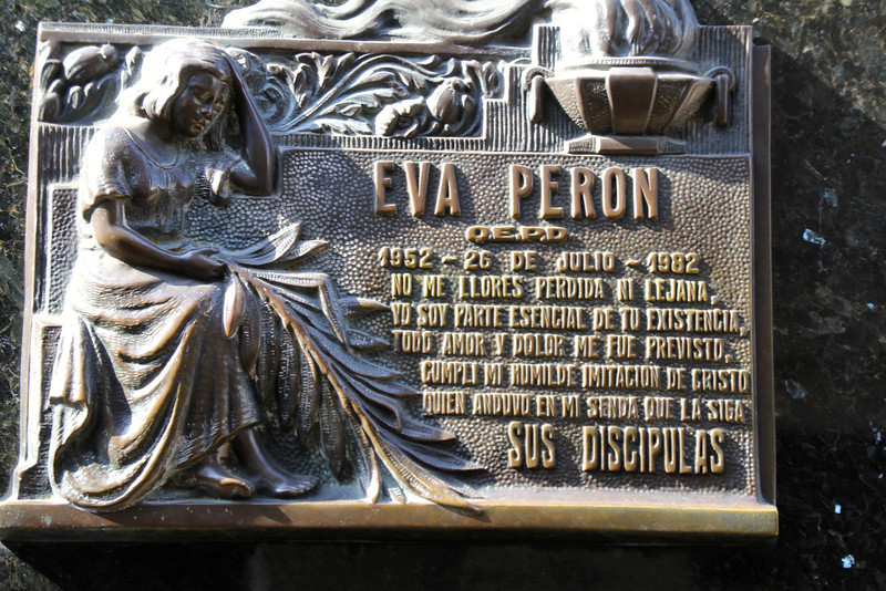 """In all of Latin America, only one other woman has aroused an emotion, devotion and faith comparable to those awakened by the Virgin of Guadalupe. In many homes, the image of Evita is on the wall next to the Virgin."" Rousso-Lenoir<br /> <br /> When Eva (Evita as she was called by the masses) passed away the government suspended all official activities for two days and ordered all flags flown at half-staff for ten days. The streets of Buenos Aires overflowed with huge piles of flowers stacked. Within a day of Evita's death, all flower shops in Buenos Aires had run out of stock. Despite the fact that Eva Perón never held a political office, she was eventually given an official funeral usually reserved for a head of state<br /> <br /> - Jay"