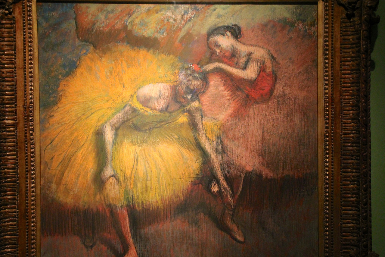 We finished Day 69 by taking the boat back to Buenos Aires and visiting the Museo National de Belle Artes just before closing. This was one of my favorites (Degas). - Jay