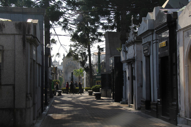 Cementerio de la Recoleta is built around a convent and church constructed by Monks in the early 18th century. - Jay