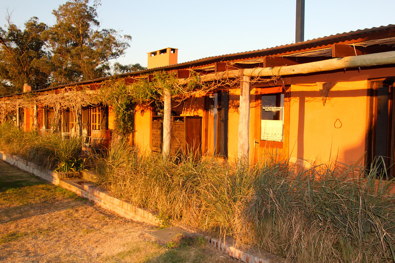 This small hostel also serves as a horse farm that was started about six years ago. - Jay
