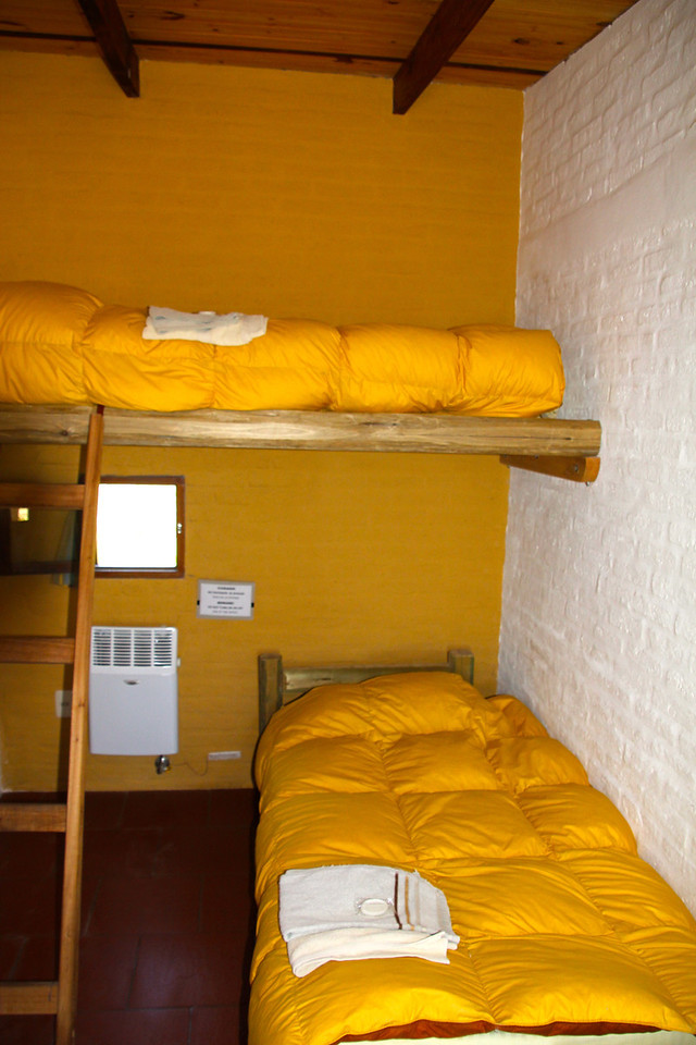 Our room was small but tastefully decorated and comfortable. - Jay