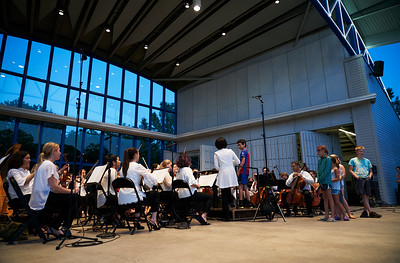Minnesota Orchestra performs at the Hilde Performance Center in Plymouth as part of the Symphony for the Cities series, Minnesota - July 2.