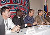 Jim Edmonds, outfielder St. Louis Cardinals; Emmit Thomas, Cornerback, Kansas City Chiefs; Jamie Quirk, Catcher, Kansas City Royals;  and Jon Sundvold, Guard, University of Missouri
