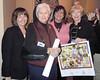 Karen Johnson, Jayne Watson, Stephany Powell and Nancy Sebastian were happy to be here to honor Ellen. (photo by Lynette Chrenka)