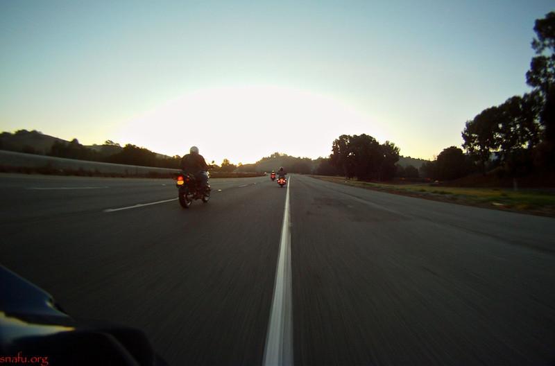 On the way to breakfast, Jan 1, 2012