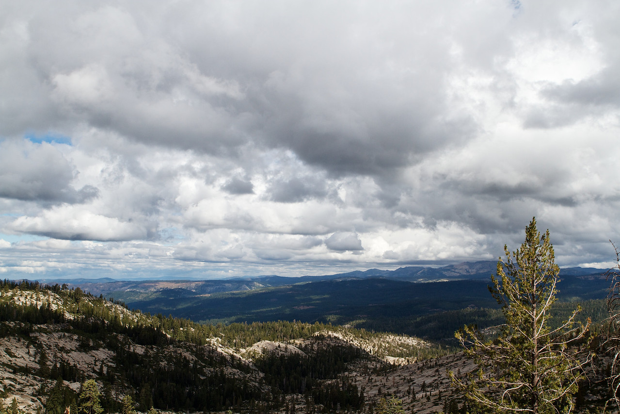 Between Silver Lake and Mormon Emigrant Trail