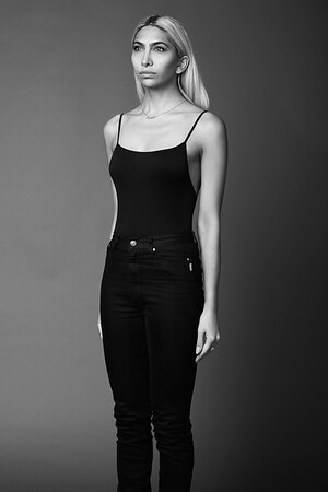 MODEL AYSHA MIRZA @AYSHAMIRZA;  PHOTOGRAPHER SCOTT PAKER PHOTO @SCOTTPARKERPHOTO;  MAKEUP/HAIR MELANIE ROCHA @KELLINGTONMAKEUP