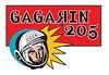 GAGARIN 205 logo
