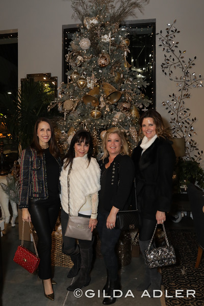 ALICIA GAUDIO, CATHI MARINELLO, DARCY ALVAREZ AND MELISSA GILBERT