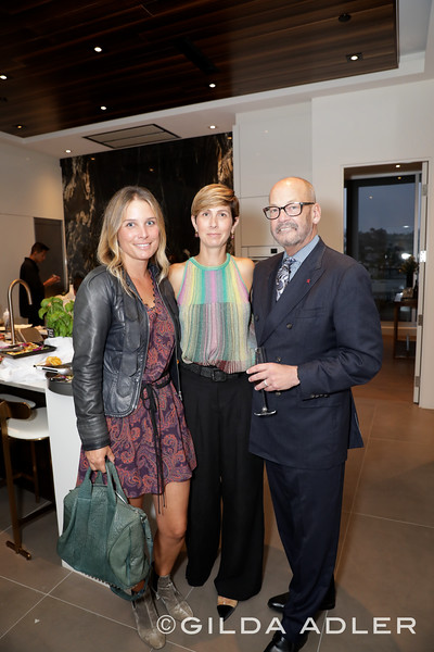 KATHERINE GILL, GRETCHEN STICKLER AND THOMAS MELODY